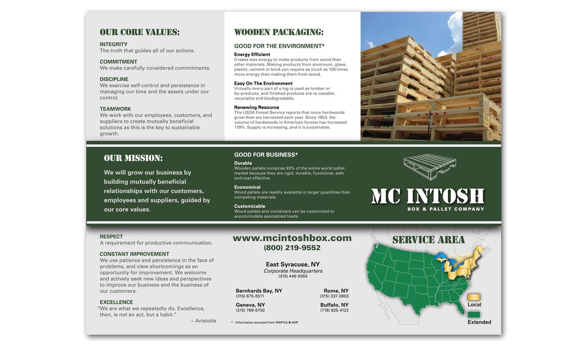 McIntosh Box & Pallet